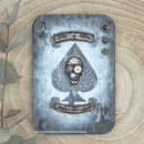 Andy Skinner Skull of Spades Rubber Stamp