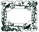 CE Foam Stamps -Spring Birds