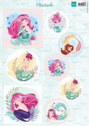 Mermaids A4 Cutting Sheet