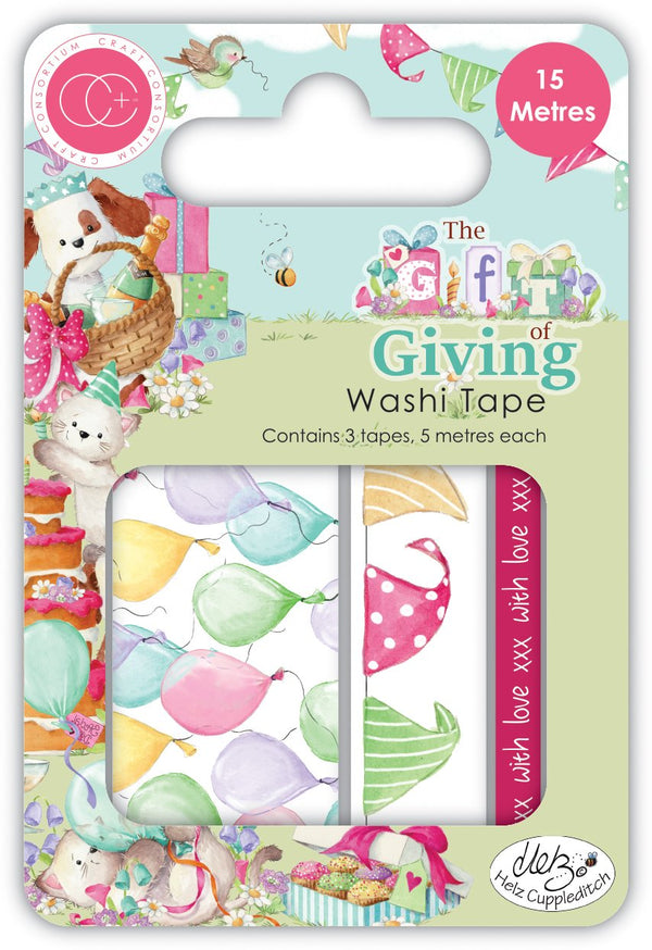 The Gift of Giving Washi Tape
