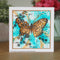 Woodware Clear Singles Butterfly 4 in x 6 in Stamp