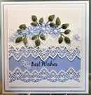 Finishing Touches Collection Orange Blossom Leaves Die