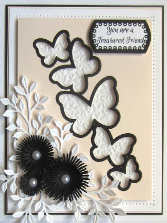 Finishing Touches Collection Chrysanthemum Die