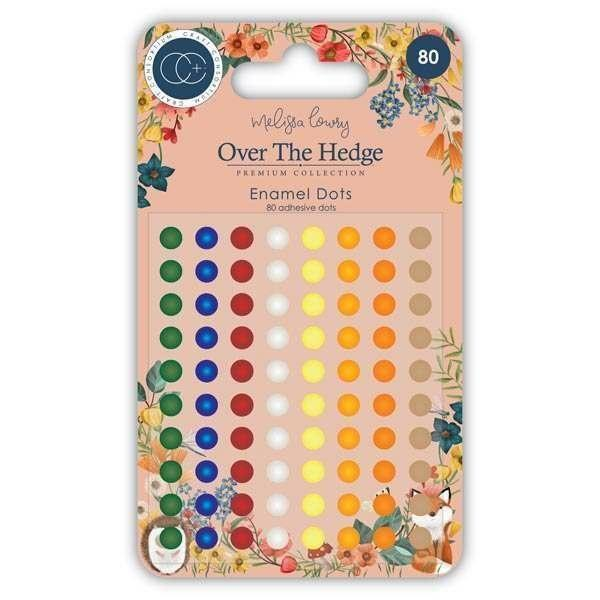 Over the Hedge - Adhesive Enamel Dots