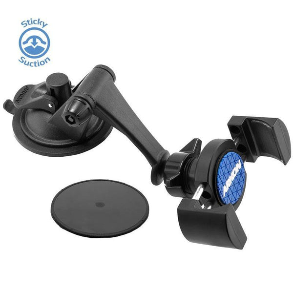 RoadVise Car Mount - Sticky Suction Windshield or Dashboard Mount