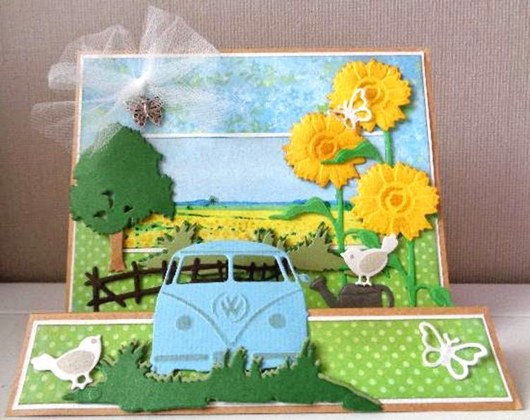 Marianne Design: Creatables Dies - Tiny's Sunflower