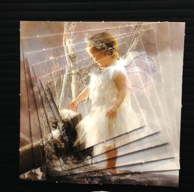 Pyramid Precut sheets Girl/Boy on swing