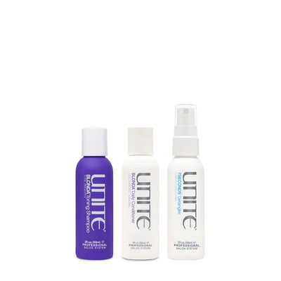 UNITE Blonde & Bright Starter Box 3 piece