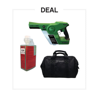 UNITE PROTECTS UNITE PROTECTS Electrostatic Sprayer + Disinfectant Buy-In 3 pc.