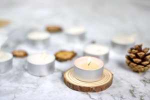 Frankincense, Oud and Myrrh Tealights (Pack of 6)