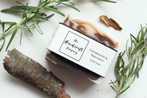 Cedarwood and Bergamot - Hand, Body & Face Soap