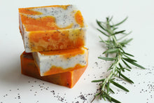 Load image into Gallery viewer, Poppyseed and Annatto - Hand, Body & Face Soap