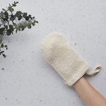 Load image into Gallery viewer, Cotton Shower Mitt