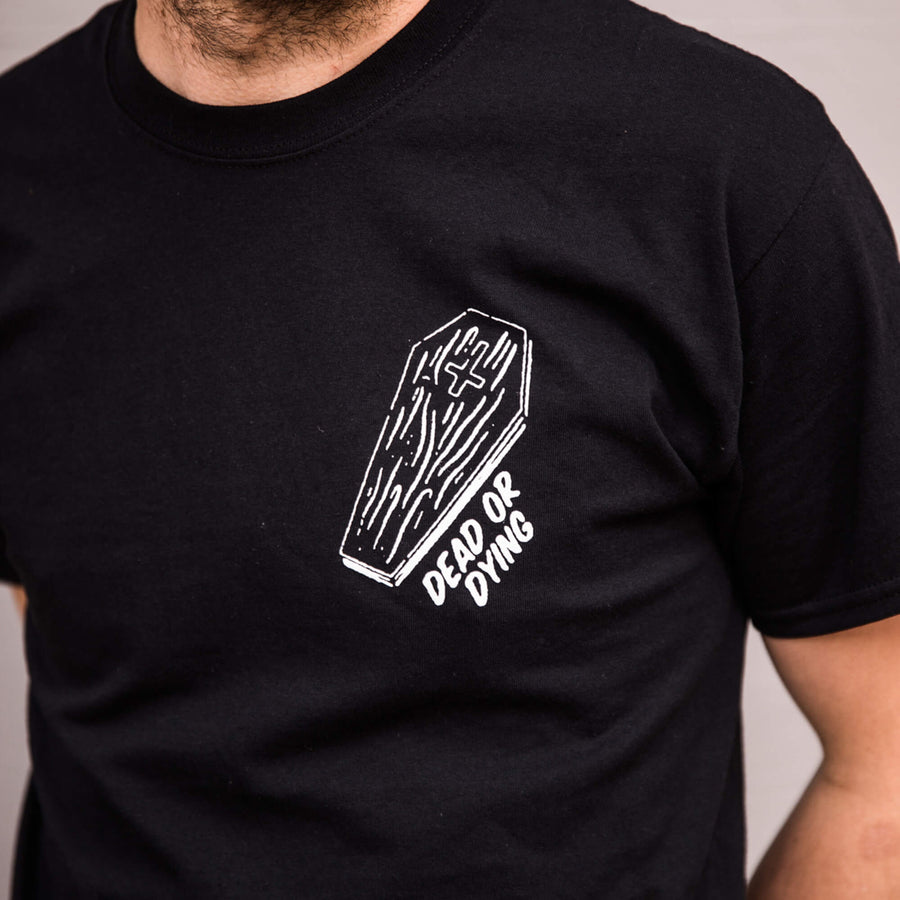 Dead Or Dying Coffin Tee