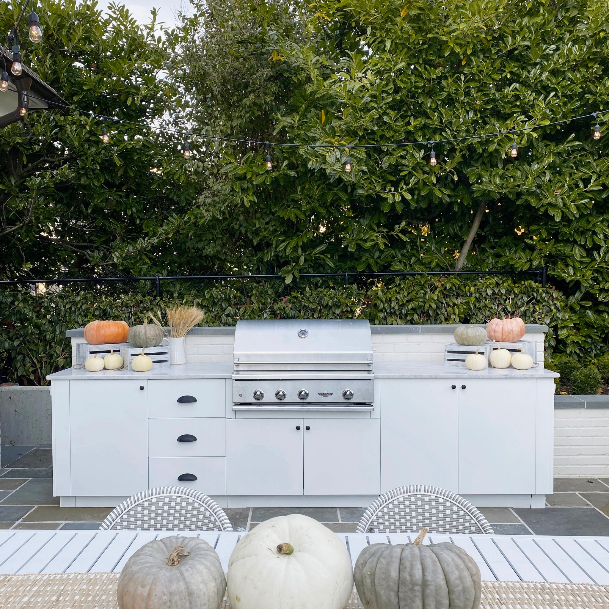 A Look at Your Kitchen Outdoors | At Home with Kristine Lee of Cozy and Kin