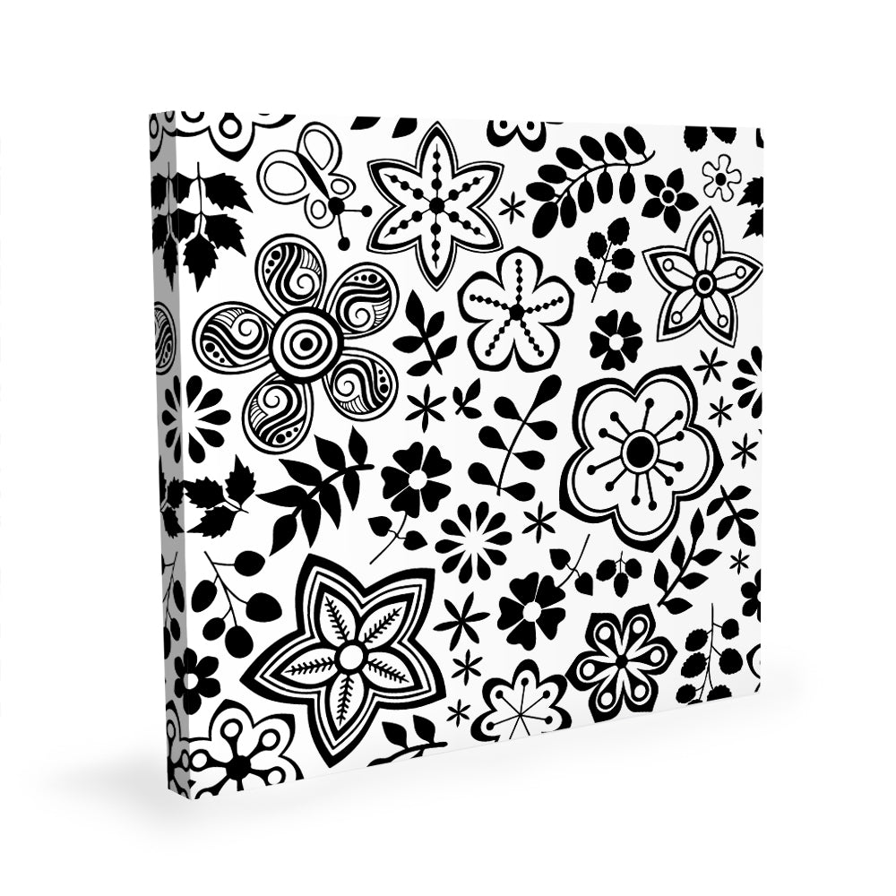 Coloring Canvas - Flowers II