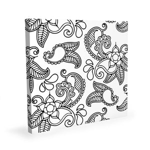 Coloring Canvas - Flowers I