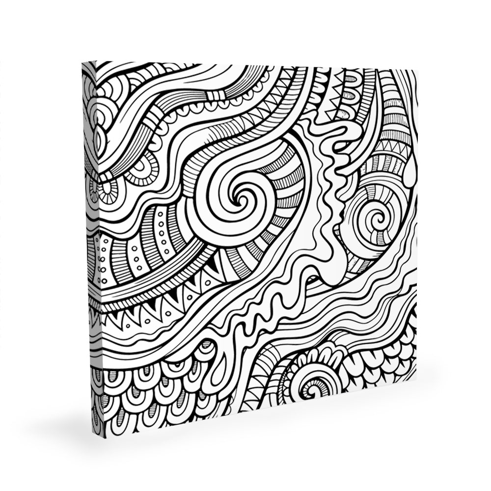 Coloring Canvas - Waves II