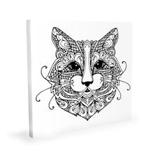 Load image into Gallery viewer, Coloring Canvas - Cat