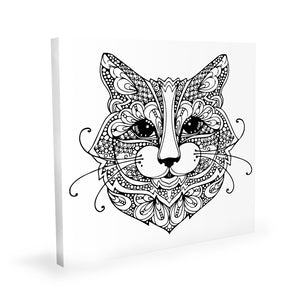 Coloring Canvas - Cat