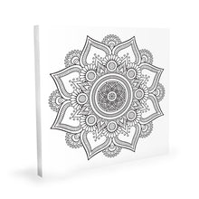 Load image into Gallery viewer, Coloring Canvas - Mandala II