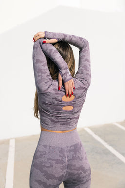 Active Wear - Lavender Camo