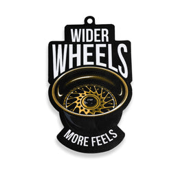 Air Freshener - Wider Wheels