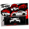 Street Hunter Supra - Sticker Pack