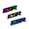 Die Cut - ESR Decals