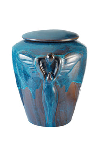 Urn - Amalfi Blue Angel