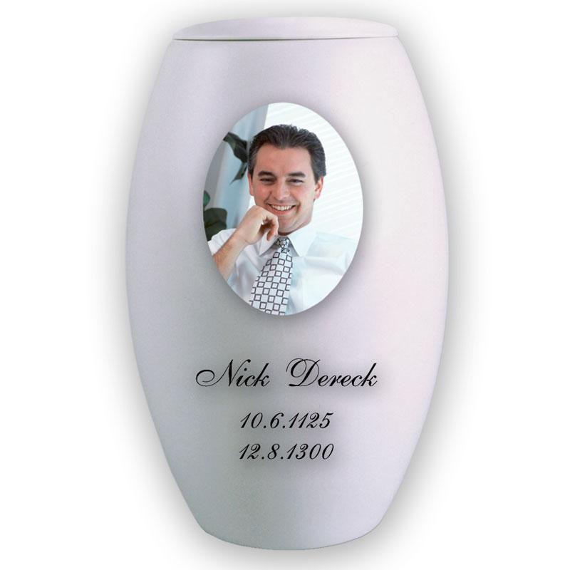 Urn - Personalized White 6512