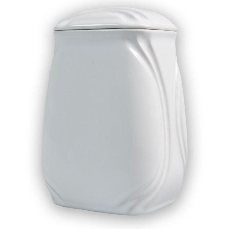 Urn - Porcelain White 6516