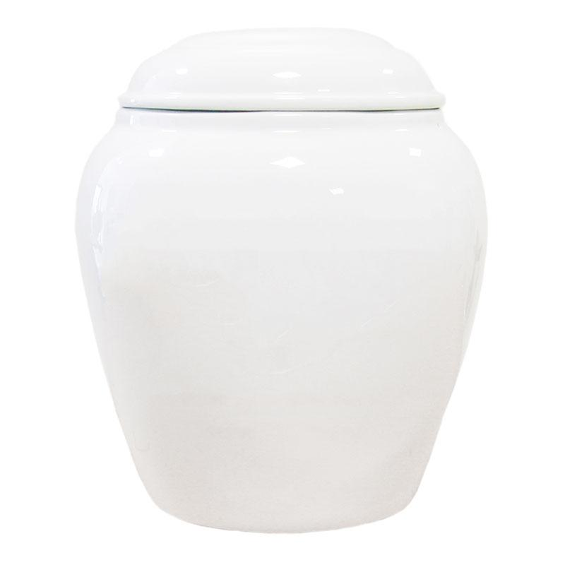 Urn - Porcelain White 6521