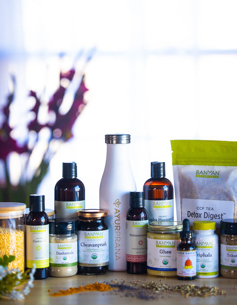 Ayurvedic Home Cleanse - Winter into Spring - April 12th to 20th
