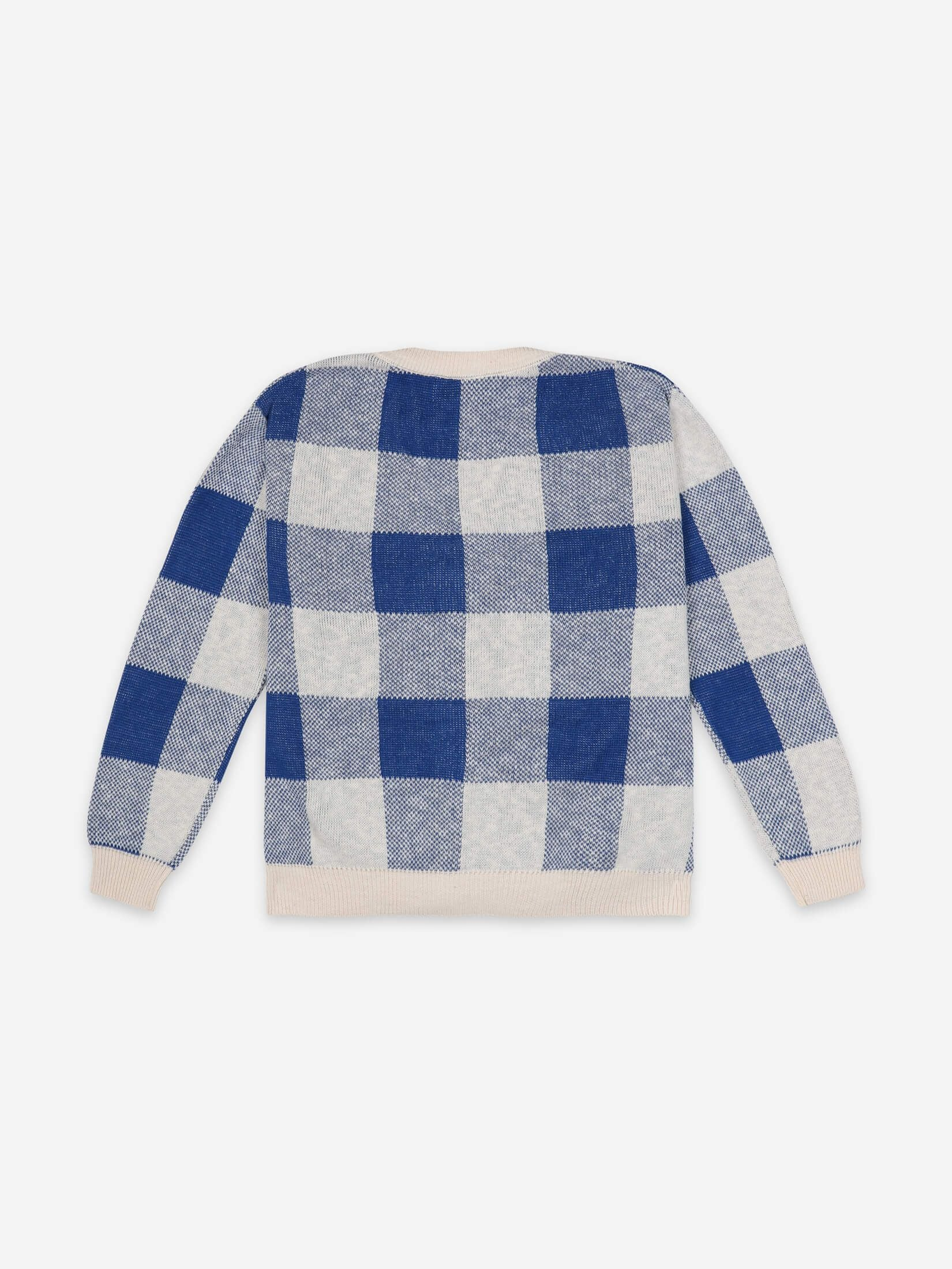 Bobo Choses  Gingham knitted Cardigan / women