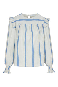 By-Bar  Mila Striped Blouse / women