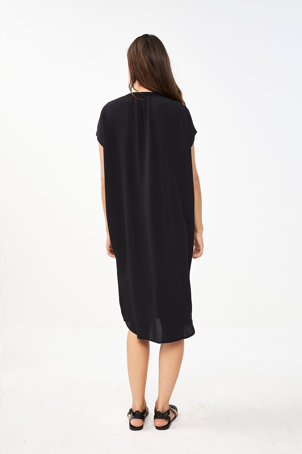 By-Bar Victoria Dress Jet Black / women