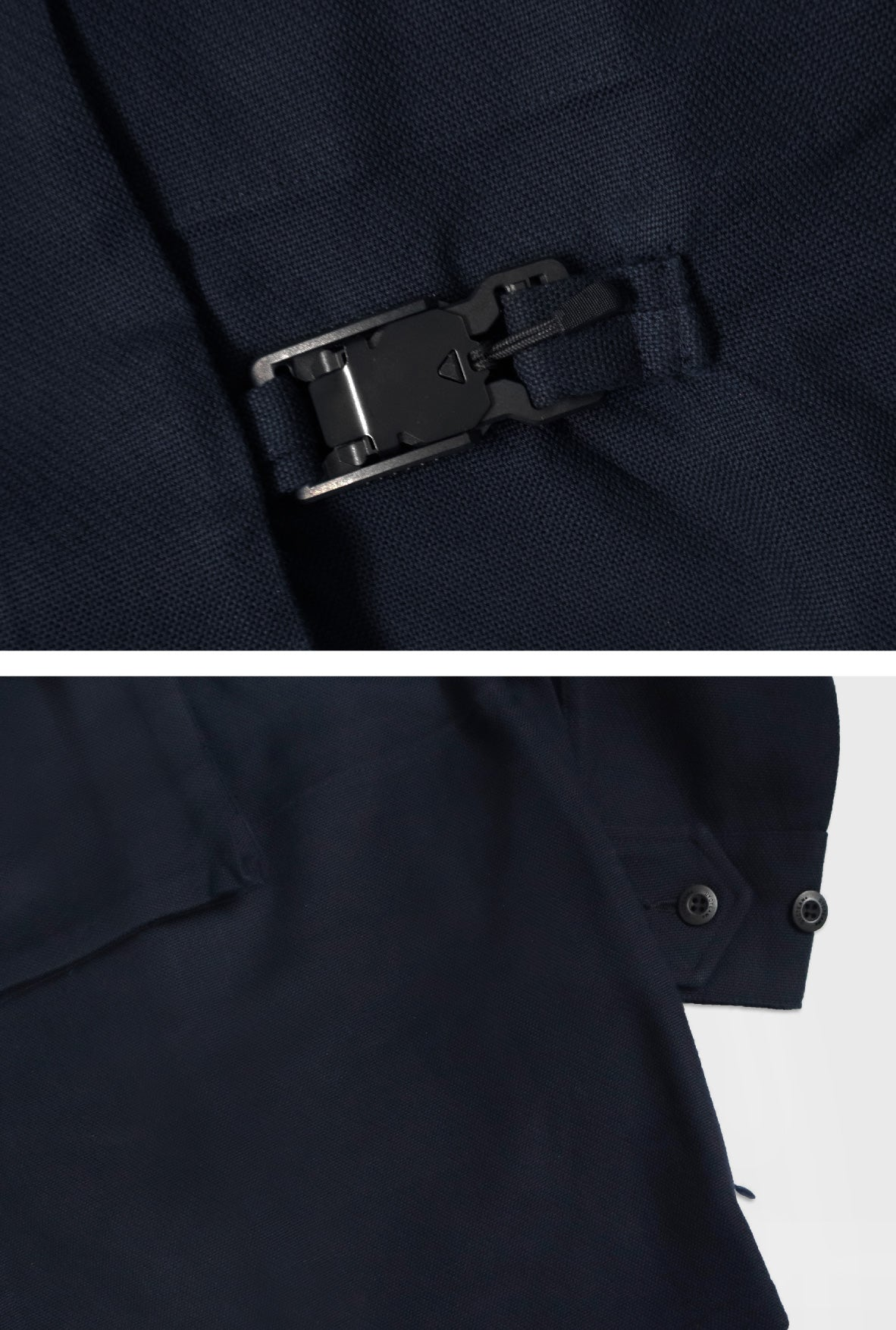 DYCTEAM  Buckle Colarless Jacket / men