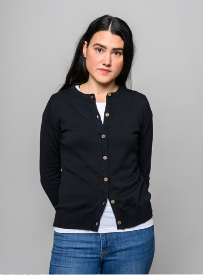 Melawear Cardigan Black / Women