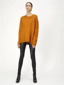 Just  Code Knit Pumpkin Spice / women