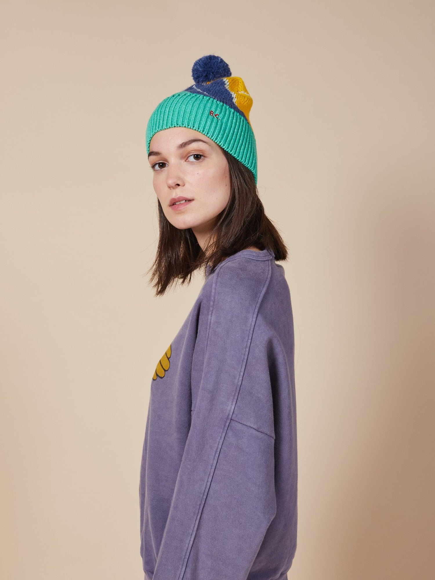 Bobo Choses  Multicolor Beanie / women