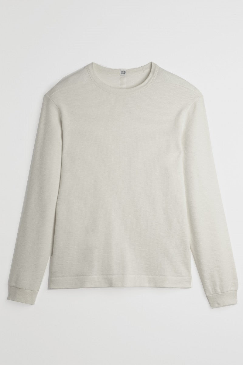 Homecore Omori Longsleeve Shirt Cream / men