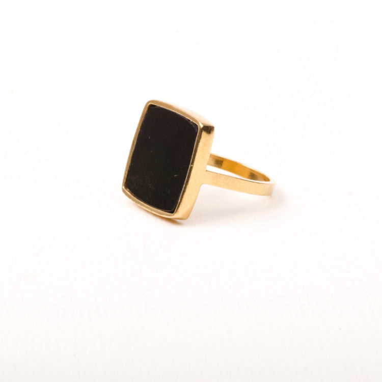 Charlotte Wooning  Ring Onyx