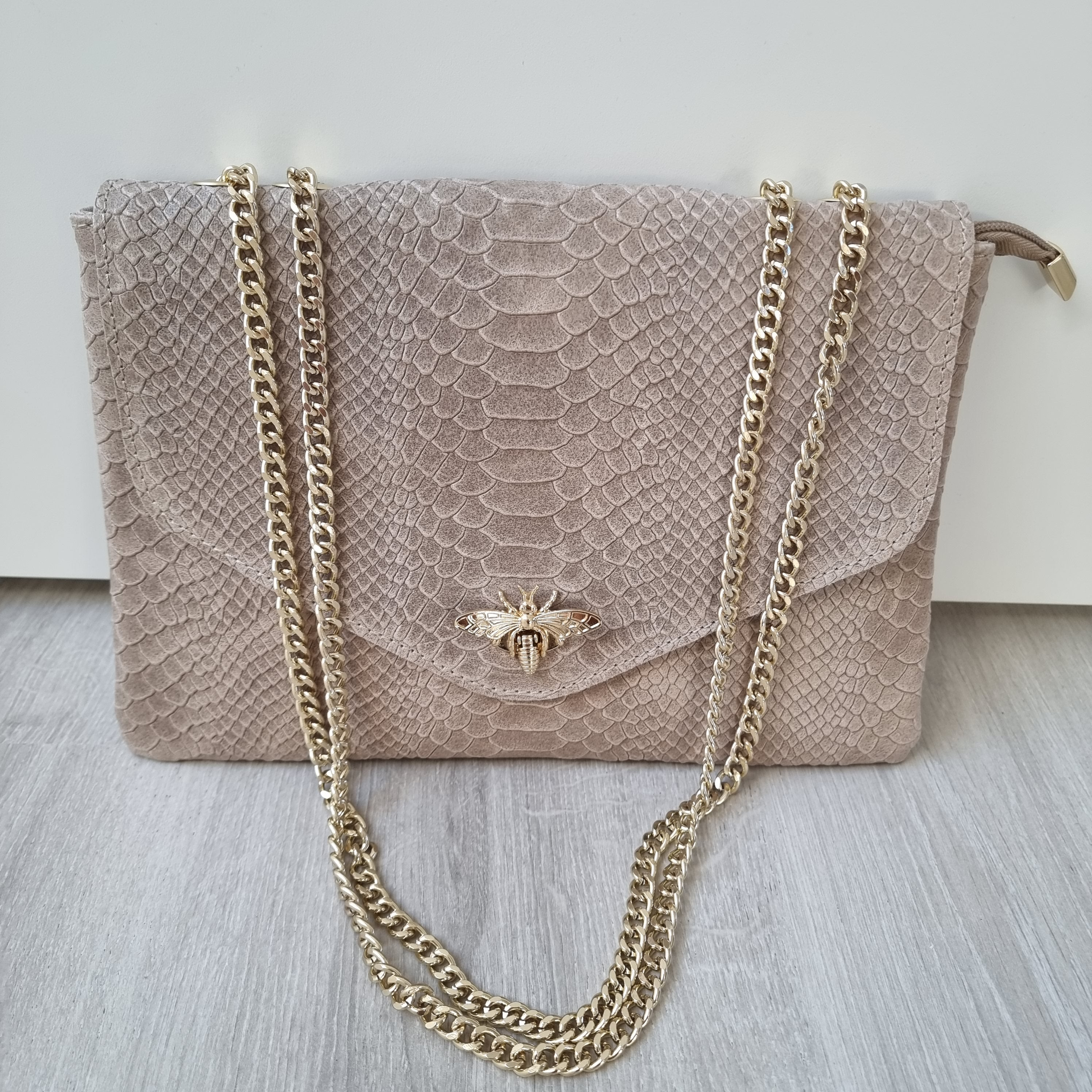 Dragonfly bag - beige