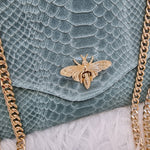 Afbeelding in Gallery-weergave laden, Dragonfly bag - turquoise