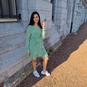 Lily green dress