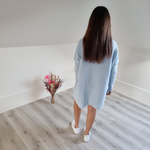 Afbeelding in Gallery-weergave laden, Sweater dress - baby blue