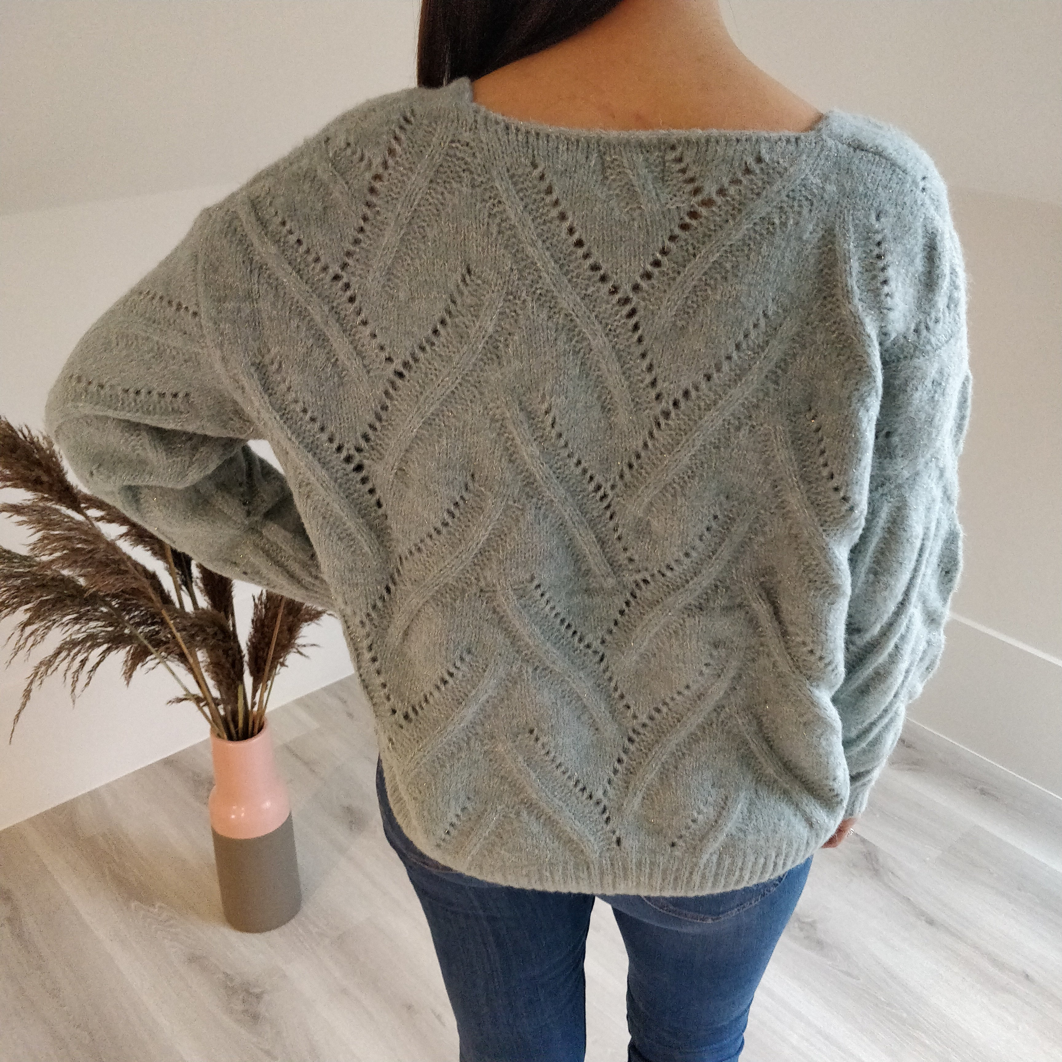 Sweater - soft green