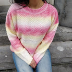 Afbeelding in Gallery-weergave laden, Sweet as candy sweater - yellow and red (pre-order)