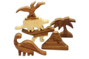 6pcs Dinosaur Set